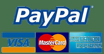 beeopak paypal visa american express mas