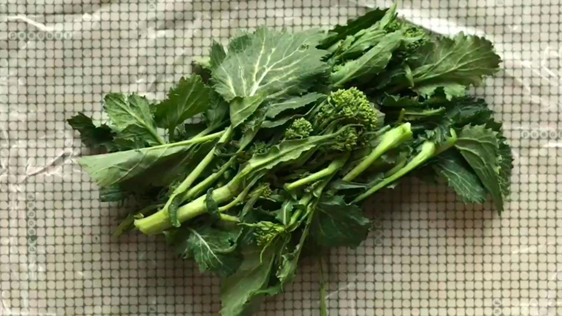 come avvolgere verdure grandi