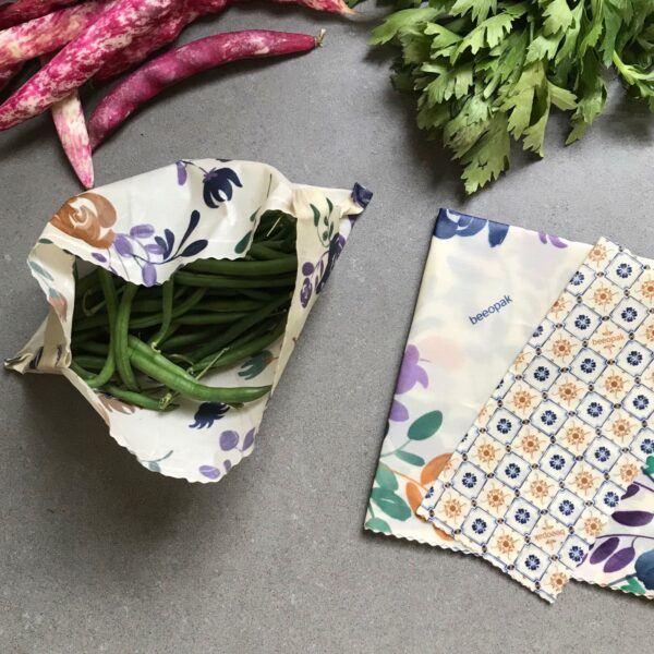 Nuovo tessuto verdure di stagione